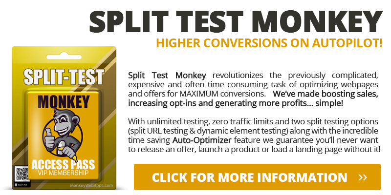 SPLIT TEST MONKEY SOFTWARE